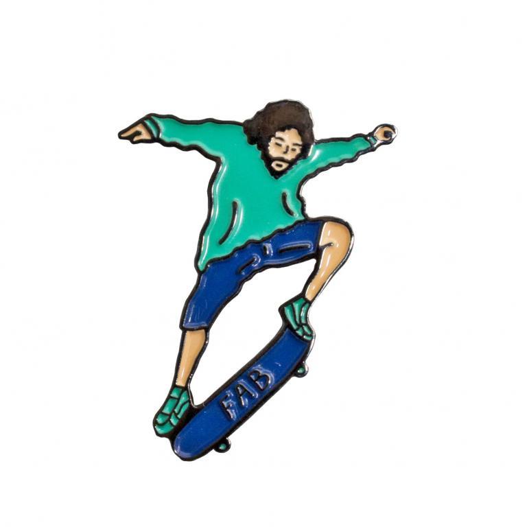 Значок Скейтер FAB